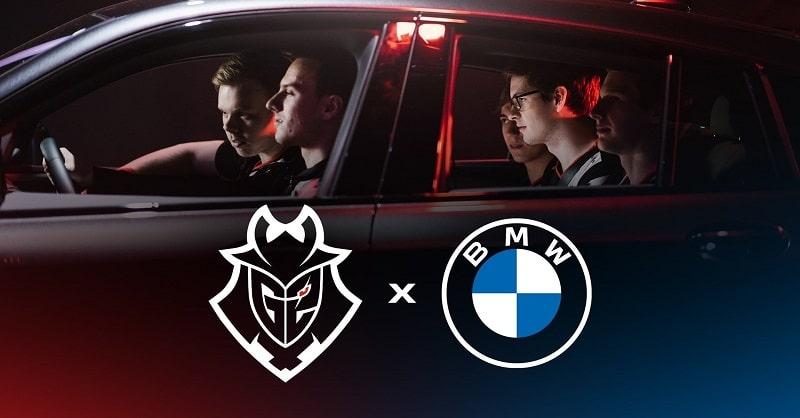 BMW×G2 Esports