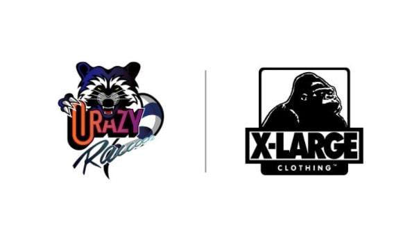 XLARGE×Crazy Raccoon