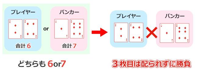 3枚目のカードが配られない条件