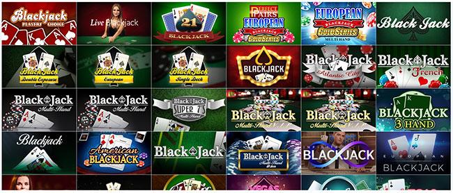 カジノエックスのブラックジャック