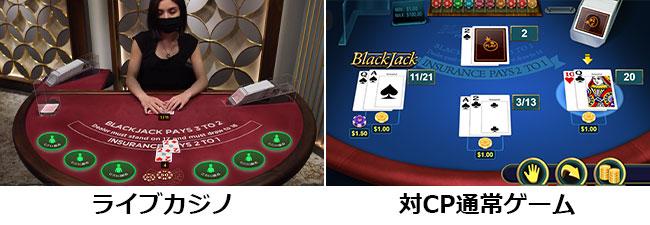 ライブカジノとは