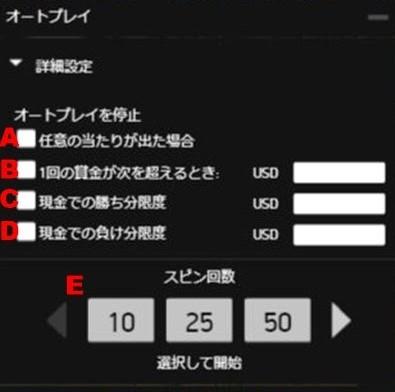 ゴンゾーズクエストオートプレイ設定02