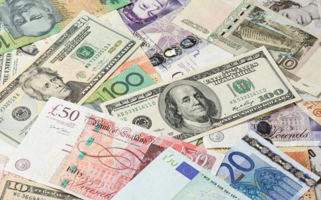 世界の全12通貨に対応