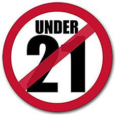 21歳未満入場禁止