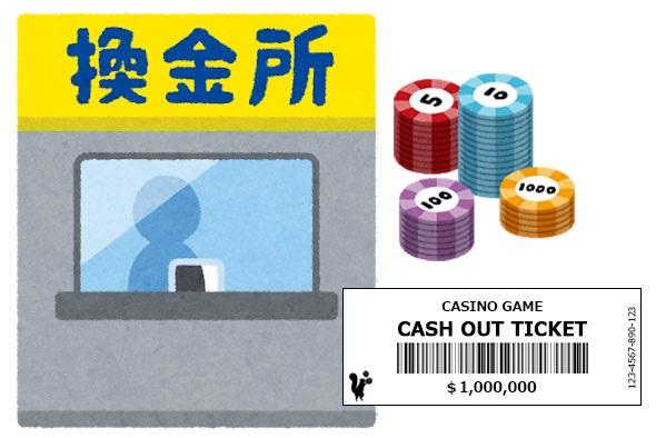 カジノチップを現金化する方法