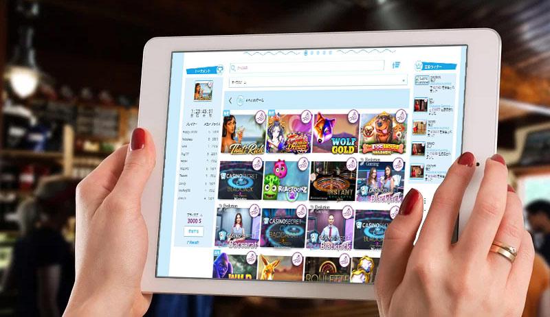 カジノシークレットでのビデオスロットの選び方や検索方法