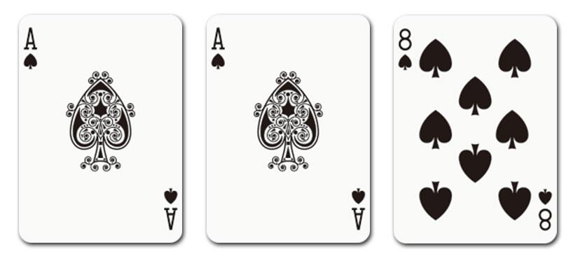ハンドにエース[A]が2枚以上存在する場合
