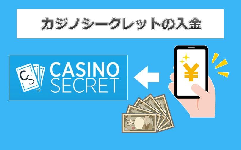 カジノシークレットの入金