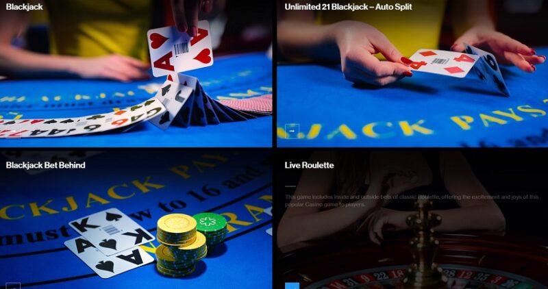 クオリティの高い映像美ライブカジノ