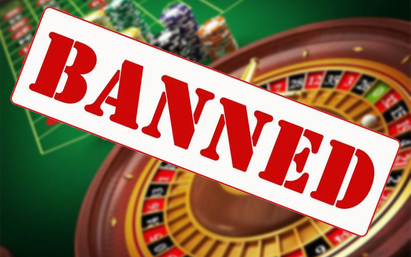 ランドカジノの禁止行為