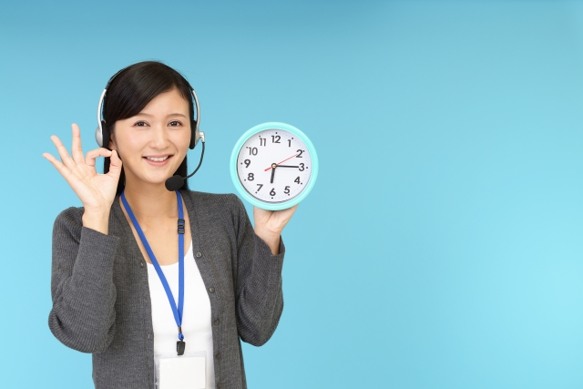 24時間365日の日本語対応
