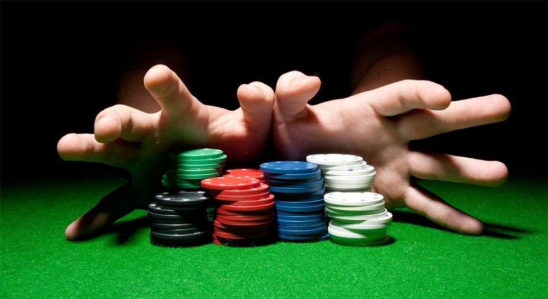 アクションに関するポーカー用語