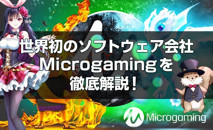 マイクロゲーミングを徹底解説